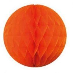 Ozdobná dekoračná guľa oranžová30cm