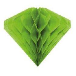 Ozdobná dekorácia zelená20cm