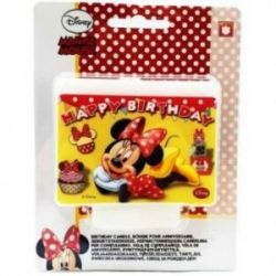 Sviečka Happy Birthday Minnie