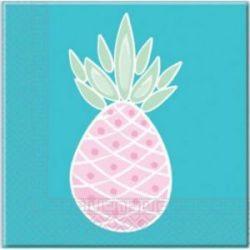 Servítky ananás 33x33cm 20ks