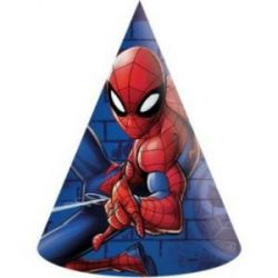 Klobúčiky Spiderman 6ks