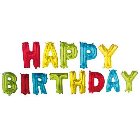 Balóny Happy Birthday 350cm