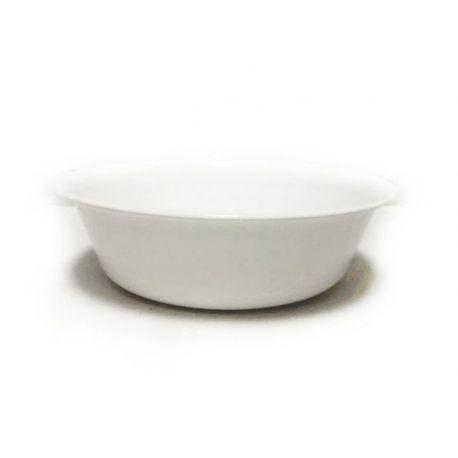 Tanier hlboký biely 15cm