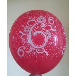 Balón číslo 6