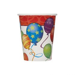 Poháriky s balónikmi