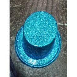 Párty klobúk - tyrkysový
