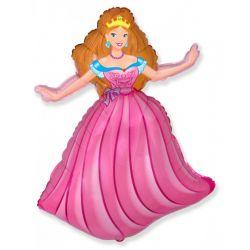 Balón Princezná ružová