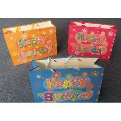 Darčeková taška Happy Birthday