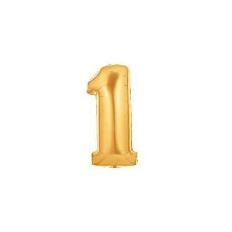 """Číslo """"1"""" - zlatá"""