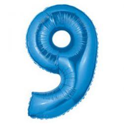 """Číslo """"9"""" - modrá"""