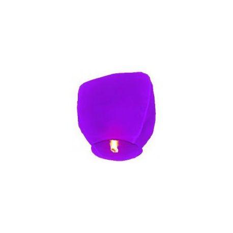 Lampión šťastia-fialový