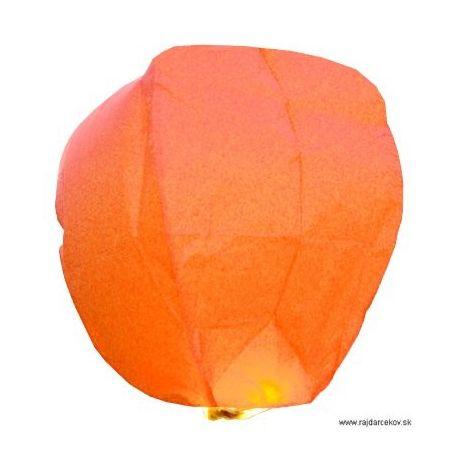 Lampión šťastia-oranžový