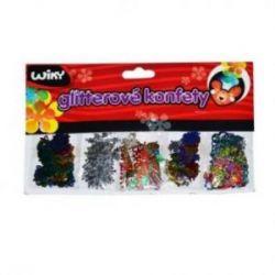 Dekorácia Glitter konfety
