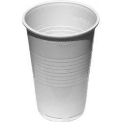 Pohár biely 0,3 l (PP) priemer 78mm (10 ks)