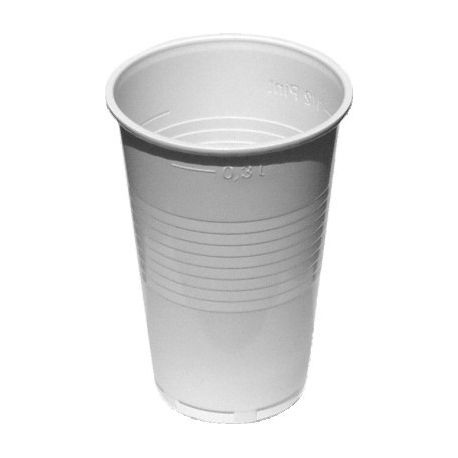 Pohár biely 0,3 l (PP) priemer 78mm (100 ks)