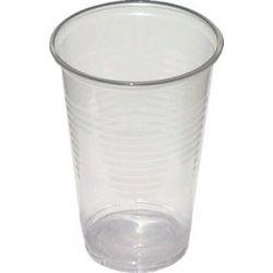 Pohár transparentné 0,2 l (PP) (100 ks)