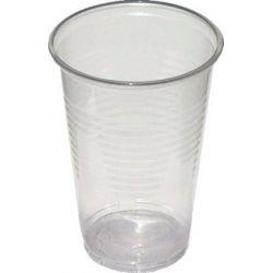 Pohár priehľadný 0,3 l -PP- (priemer 78 mm) (100 ks)