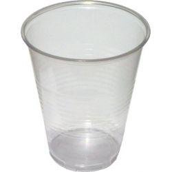 Pohár priehľadný 0,3 l -PP- (priemer 84 mm) (50 ks)