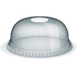 Viečko vypuklé s otvorom pre poháriky priemer 95 mm (50ks)