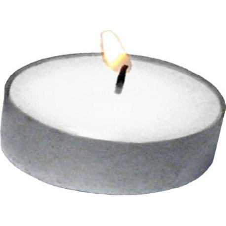 Sviečky v kalíškoch JUMBO (čajové) 10 hod. (20 ks)