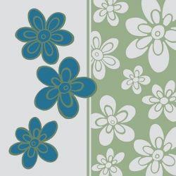 Obrúsky 3-vrstvé, 33 x 33 cm BLUE VELVET (20 ks)