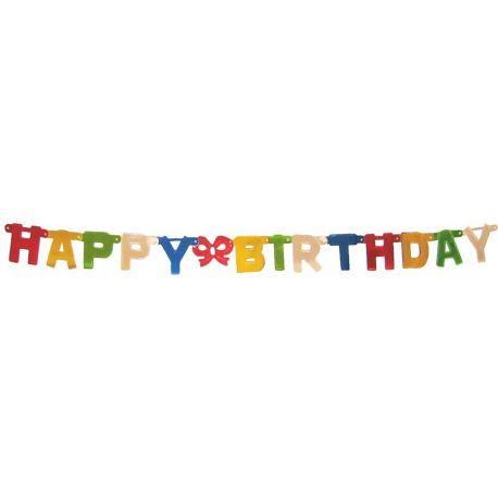 Girlanda HAPPY BIRTHDAY 1,5 m (Ø 11 cm)
