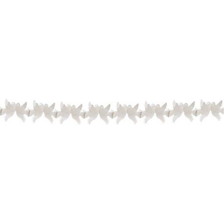 Papierová girlanda SVADBA 4 m (Ø 16 cm) (1 ks)