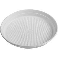 Tanier biely (PP) 22 cm (10ks)