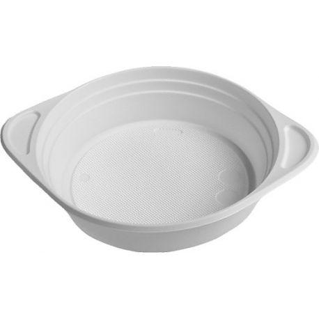 Šálka na polievku biela (PP) 350 ml (100 ks)