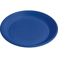 Tanier modrý (PS) Ø 22 cm (10 ks)