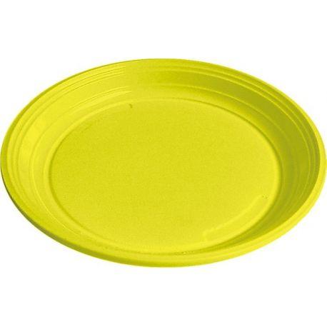 Tanier žltý (PS) Ø 22 cm (10 ks)