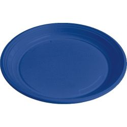 Tanier modrý (PS) Ø 22 cm (30 ks)