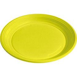 Tanier žltý (PS) Ø 22 cm (30 ks)