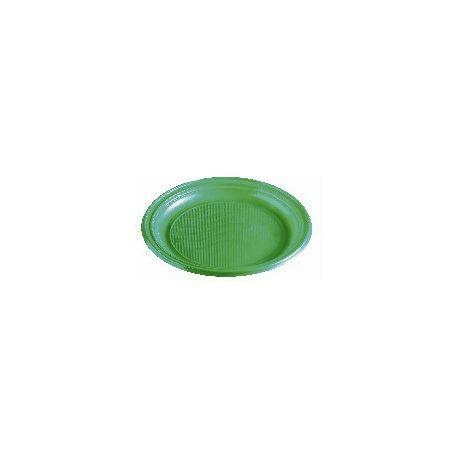 Tanier zelený (PS) Ø 22 cm (30 ks)