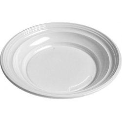 Tanier hlboký, biely (PS) Ø 20,5 cm (100 ks)
