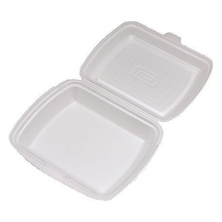 Menu box nedelený biely 241 x 207 x 69 mm (125 ks)