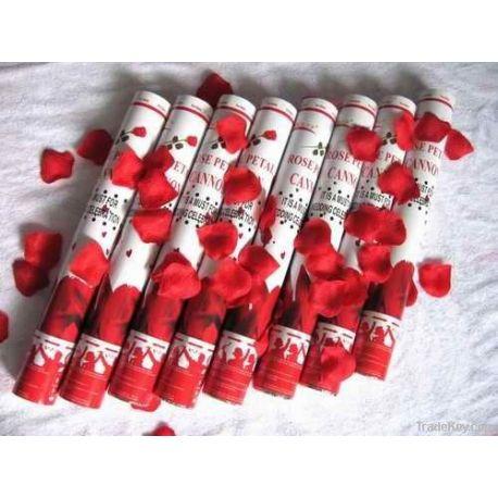 Konfety červené lupienky