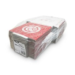 Krabica na pizzu z vlnitej lepenky (PAP) 24x24x3cm (100ks)
