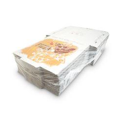 Krabica na pizzu z vlnitej lepenky (PAP) 28x28x3cm (100ks)