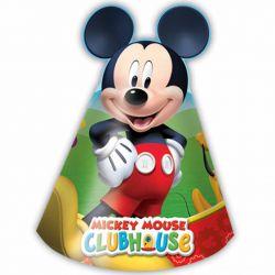 Klobúčik party Mickey (6ks)
