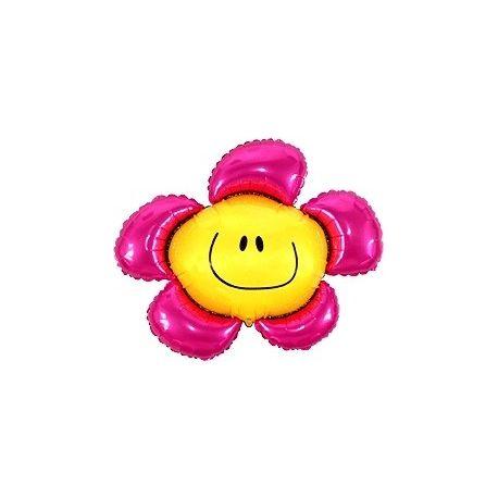Balón Kvetinka ružová