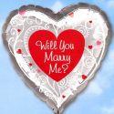 Balón Will You Marry Me? 45cm