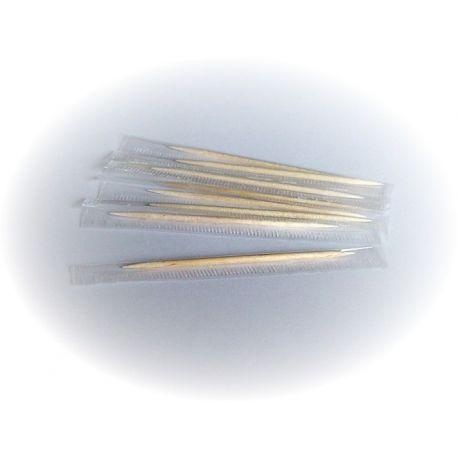 Drevené špáradlá hyg. balené v celofáne 65 mm (1000 ks)