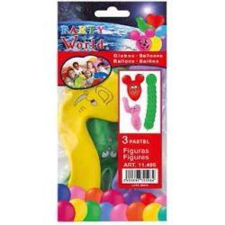 Balóny zvieratká 3ks