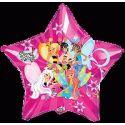 Balón Winx - hviezda