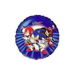 Balón Sonic - tmavo modrý