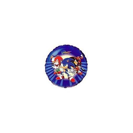 Balón Sonic tmavomodrý