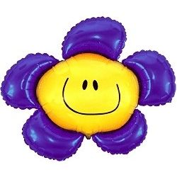 Balón Kvetinka fialová