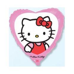 Balón Hello Kitty v srdci