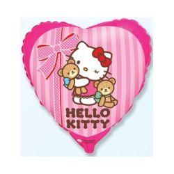 Balón Hello Kitty s macíkmi